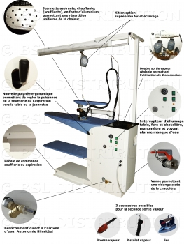 table repasser professionnelle lazio aspirante. Black Bedroom Furniture Sets. Home Design Ideas