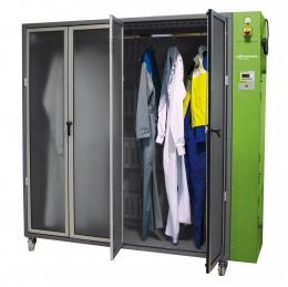 Cabine de séchage vêtements pour équipes