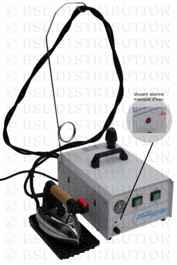 Générateur vapeur professionnel INOX 2 Litres