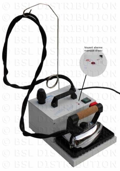Centrale vapeur professionnelle, chaudière INOX 1 Litre