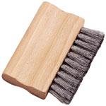 Brosse plate en fil d'acier tronqué