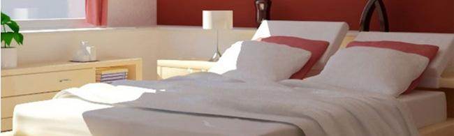 Draps de lit, taies d'oreillers, couvertures et couettes