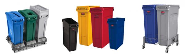 Collecteur pour tri de déchets