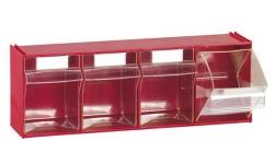 Blocs-tiroirs basculants 4 godets 7004
