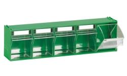 Blocs-tiroirs basculants 5 godets 7003