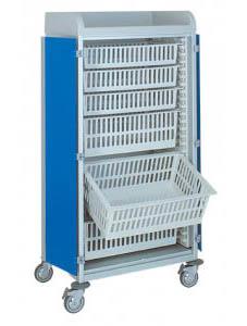 Chariots de distribution de médicaments 3955/3 CR