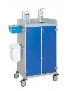 Chariots de distribution de médicaments 3955/2 CR