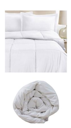 Linge de lit professionnel : Couette microfibre 240 x 260 cm