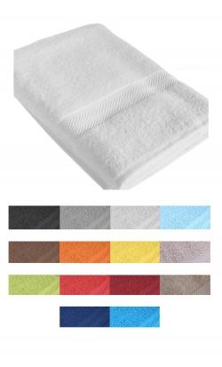 Serviette de bain éponge COLORE 450gr/m² 50x100cm