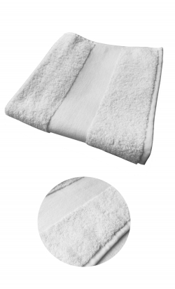 Serviette de bain éponge 450gr/m² 50x100cm