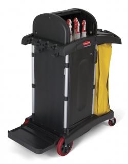 Chariot de ménage / nettoyage professionnel - haute sécurité