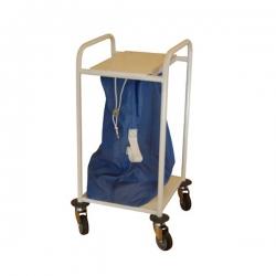Chariot porte-sac à linge sale - 1 sac