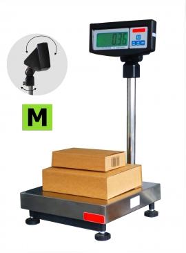 Balance de pesage avec colonne et indicateur, homologuée, portée 15 à 150kg