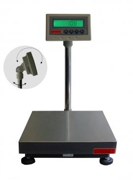 Balance de pesage avec colonne et indicateur, portée 30 à 300kg. ( PZ )