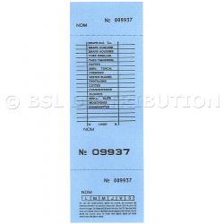 Ticket pressing - carnet de tickets numérotés