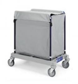 Chariot de collecte du linge pour blanchisserie 200L