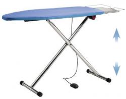 Table à repasser professionnelle pliante T220P - Chauffante, aspirante