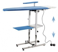 Table repasser professionnelle ergonomique battistella - Support table a repasser ...