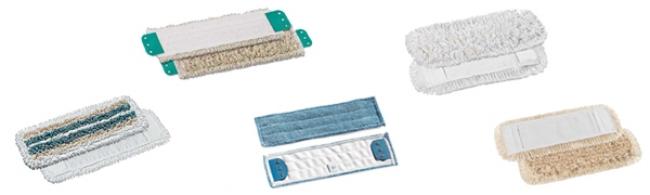 Frange de lavage à poches ou à languettes