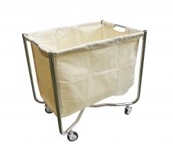 Chariot de collecte du linge pour blanchisserie 250L