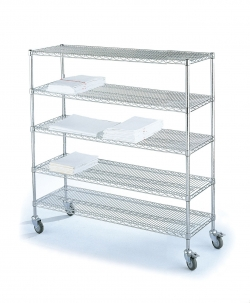Etagère de distribution du linge propre L1520mm
