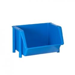 Bac à bec en plastique alimentaire 45L - Bleu