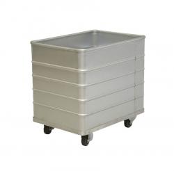 Bac à linge fond fixe en aluminium 190L