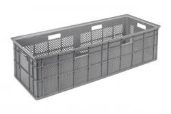 Bac de stockage gerbable en plastique - 100L