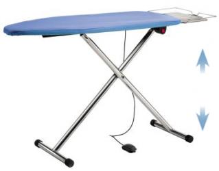 Table à repasser professionnelle T220P - Plateau ajustable en hauteur