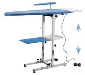 Table à repasser professionnelle KER - Plateau ajustable en hauteur