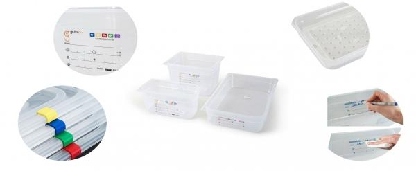 Accessoires pour boite hermétique alimentaire Gastronorm