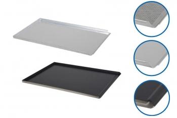 Plaque de cuisson aluminium GN1/1 - 3 bords droits 90°, 1 bord incliné 45°