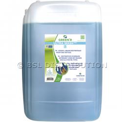 Lessive liquide enzymatique GREEN'R ULTRA WASH PRO pour tous textiles 20L