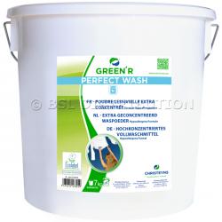 Lessive en poudre professionnelle hypoallergénique GREEN'R PERFECT WASH, 7kg