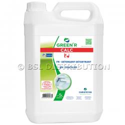 GREEN'R CALC 5L : Détartrant liquide non moussant, écologique