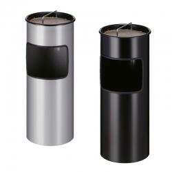 Poubelle cendrier professionnelle 30L anti-feu