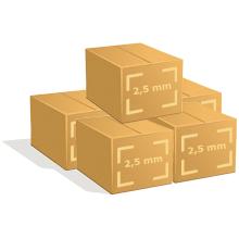 5 Cartons de 450 cintres fer pressing