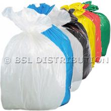 Sac poubelle 110L Coloré - Lot de 200 sacs