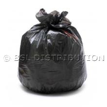 Sac poubelle 750L Noir - Lot de 100 sacs