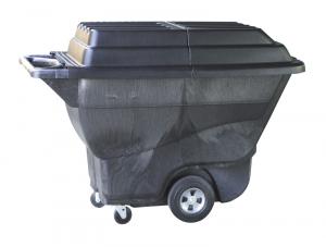Couvercle pour chariot benne à bascule