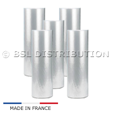 5 Rouleaux de film plastique 550mm