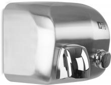 Sèche-main manuel en inox AISI 304