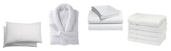 Linge de lit et de bain - Fourniture médicale et équipement pour hôpitaux