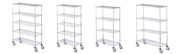 Etagères de stockage et distribution - Matériel / équipement centre hospitalier