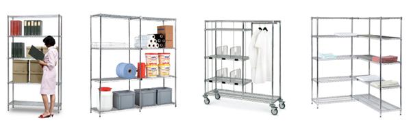 Rayonnage de stockage sur mesure - Matériel / équipement centre hospitalier
