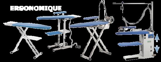 Tables à repasser ergonomiques - Equipement / Matériel EHPAD