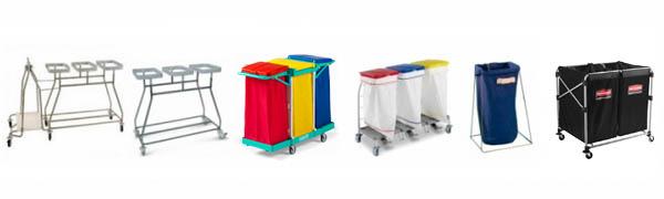 Porte-sacs à linge - Equipement collectivité et mairie