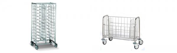 Chariots pour assiettes et plateaux - Matériel et équipement collectivité