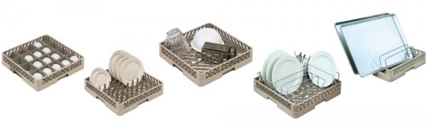 Casiers Plastiques lave-vaisselle - Matériel pour collectivité / mairie