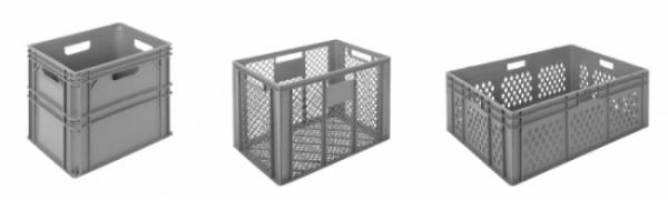 Bacs Plastiques Euronorm - Equipement pour collectivité